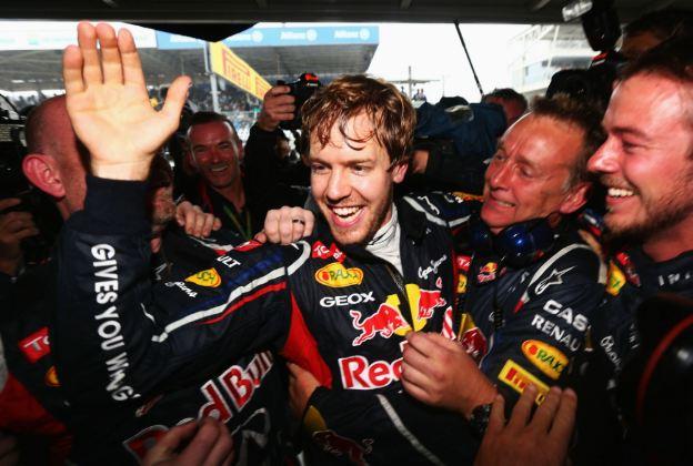 Triple champion Vettel is F1 'yardstick'