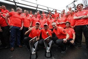 McLaren had the fastest car in 2012
