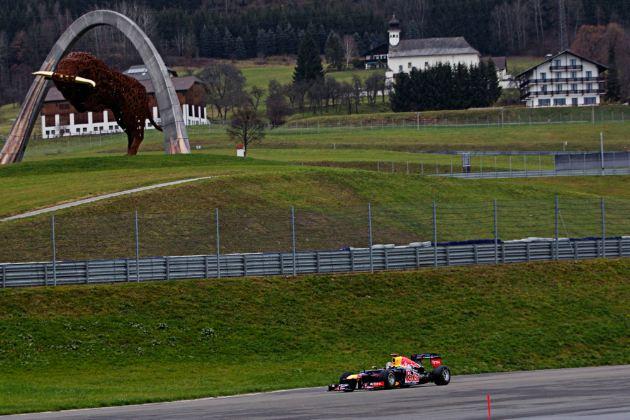 Austria returns to F1 calendar in 2014