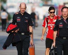Red Bull's Horner visited Ferrari