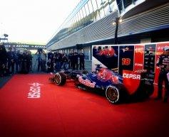 STR8 unveiled in Jerez pit lane