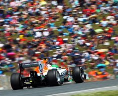 Force India targeting consistency with speed