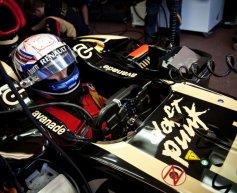 Grosjean penalised for Ricciardo crash