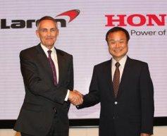 Honda confirms F1 return with McLaren in 2015