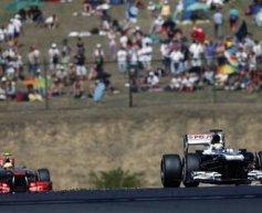 Maldonado ends Williams points drought