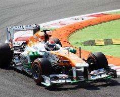 Sutil penalised for impeding Hamilton