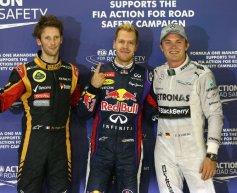 Vettel praises phenomenal car after taking pole