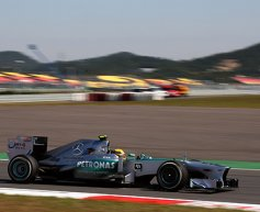 Hamilton quickest during practice in Korea