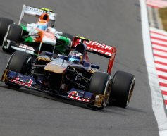 Mechanical issue hits Toro Rosso