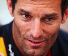 Webber happy with form despite difficult season