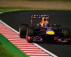 Webber beats Vettel to pole position in Japan
