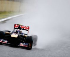 Ricciardo, Vergne happy with top 10 slots