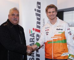 Hulkenberg returns to Force India in 'multi-year deal'