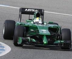 Caterham unveils CT05 at Jerez