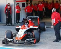 Marussia unveils MR-03 at Jerez