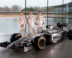 McLaren unveils MP4-29 in Woking