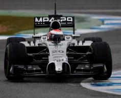Magnussen determined to justify McLaren's faith