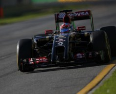 Grosjean pleased with race progress