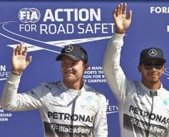 Wolff: Hamilton/Rosberg 'like enemies'