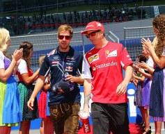 Vettel as Ferrari teammate would be 'nice' says Raikkonen