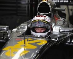 Magnussen pleased with McLaren updates