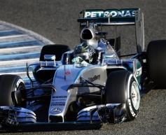 Rosberg hails 'fantastic' Mercedes