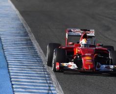 Vettel keeps Ferrari on top in Jerez test