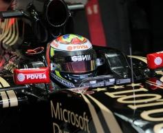 Maldonado sets pace as Barcelona test begins