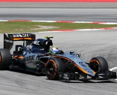 Perez disappointed by Malaysia penalty
