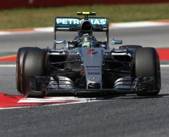 Rosberg quickest at Barcelona test