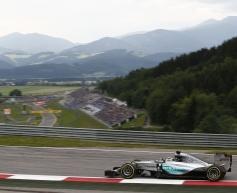 Austria post-race test line-up