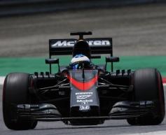 Alonso encouraged by McLaren test progress
