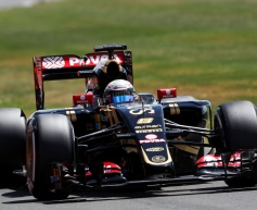 Lotus frustrated by first lap collision