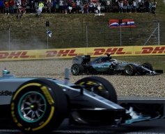 Hamilton was 'all over the place'