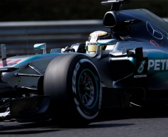 Hamilton stays ahead in second session