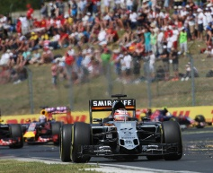 Hulkenberg: Little warning over front wing failure
