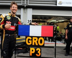 Grosjean sure podium repeat possible