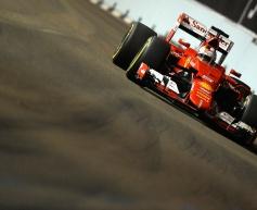 Vettel heads Ferrari 1-2 in final practice