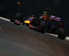 Red Bull pair play down practice pace