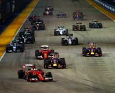 Vettel dominates for Singapore victory