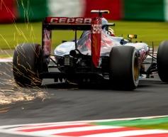Sainz frustrated by 'rookie error'