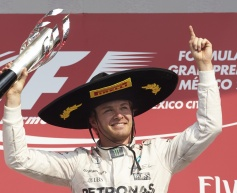 Rosberg dominates for Mexican GP win