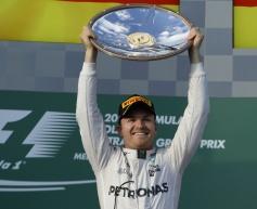 Rosberg hails perfect start after Australia win