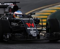 Alonso pleased by McLaren progress