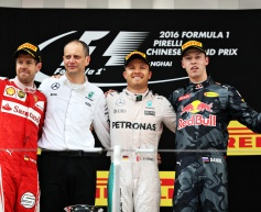 Rosberg clears chaos to dominate in China