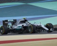 Rosberg heads opening Bahrain session