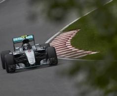 Rosberg upbeat despite missing pole