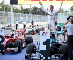 Rosberg cruises to European GP victory