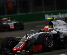 Haas not far from points - Grosjean