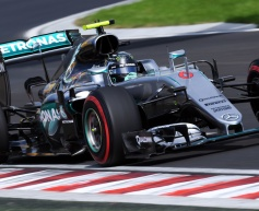 Rosberg quickest as Hamilton crashes